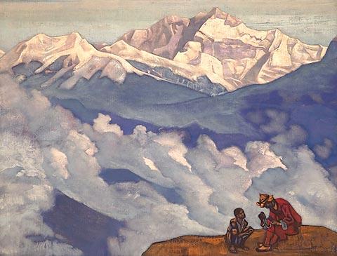 Н.К. Рерих. Жемчуг исканий. 1924